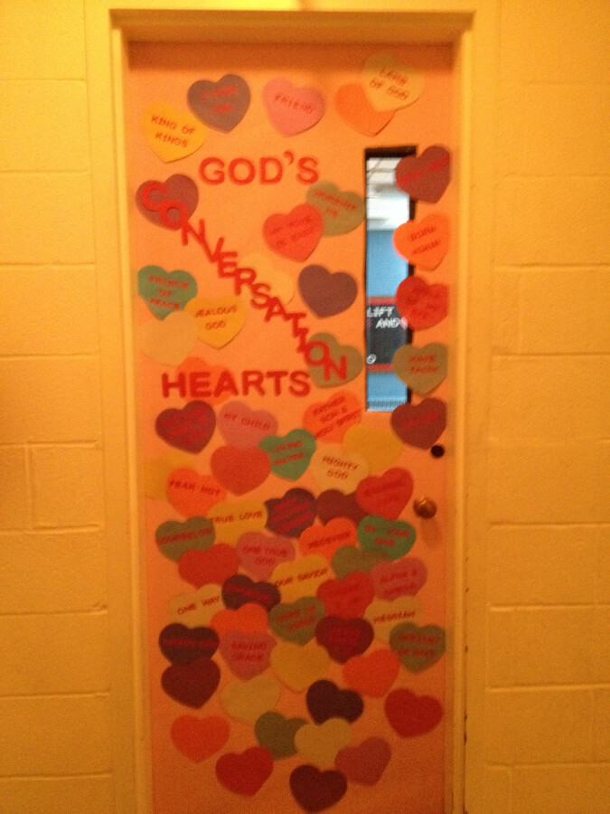Sunday School Door