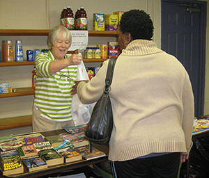 Food Pantry Serves the Community