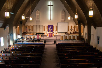 RUMC Main Sanctuary