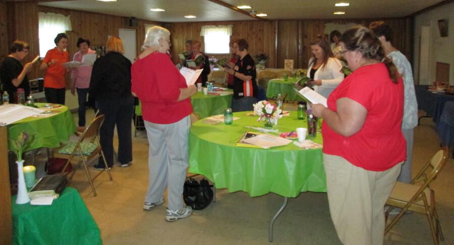 Womens retreat 2 - May 2015