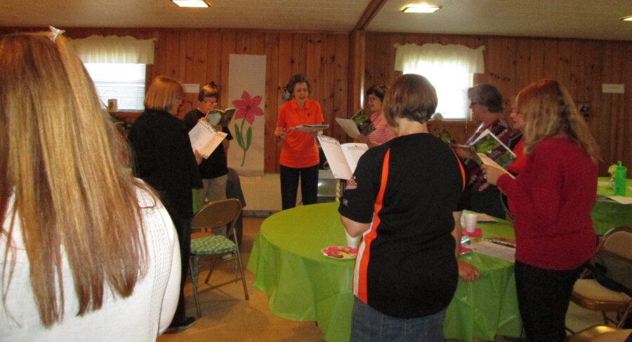Womens retreat 1 - May 2015