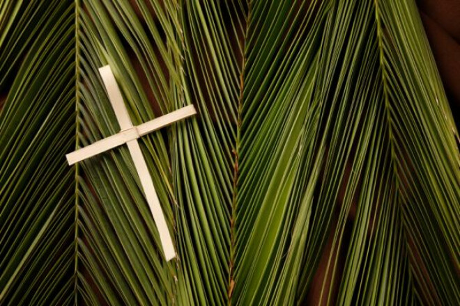 Palm Passion Sunday Services - 8:30 and 10:30 am