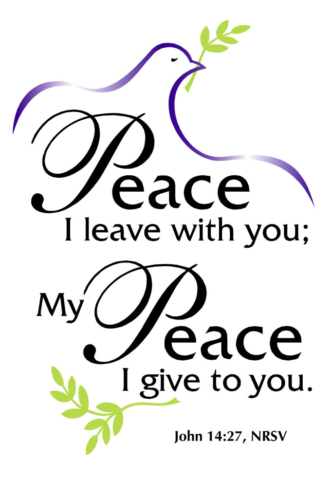 Jesus Blesses Us with Peace